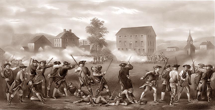 What Was The First Battle Of The Revolutionary War >> Dormanhistory History Paper